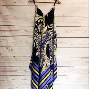 NWT Mlle Gabrielle Handkerchief Dress